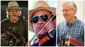 Jesse Legé, Ed Poullard and Charlie Terr